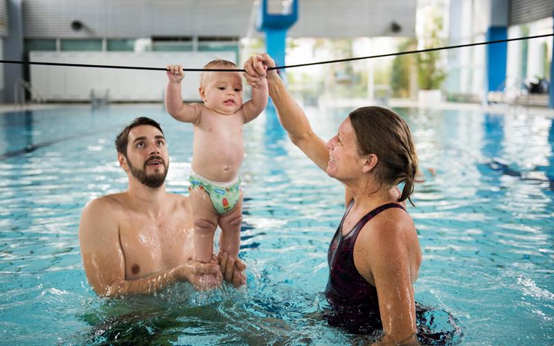 AquaMinis, Aquasport, Babyschwimmen