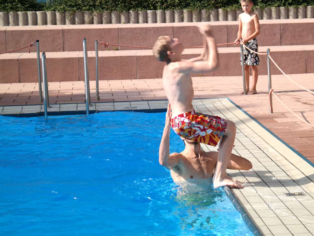 AquaKids, Aquasport, Wasserkurs, Kinder, springen