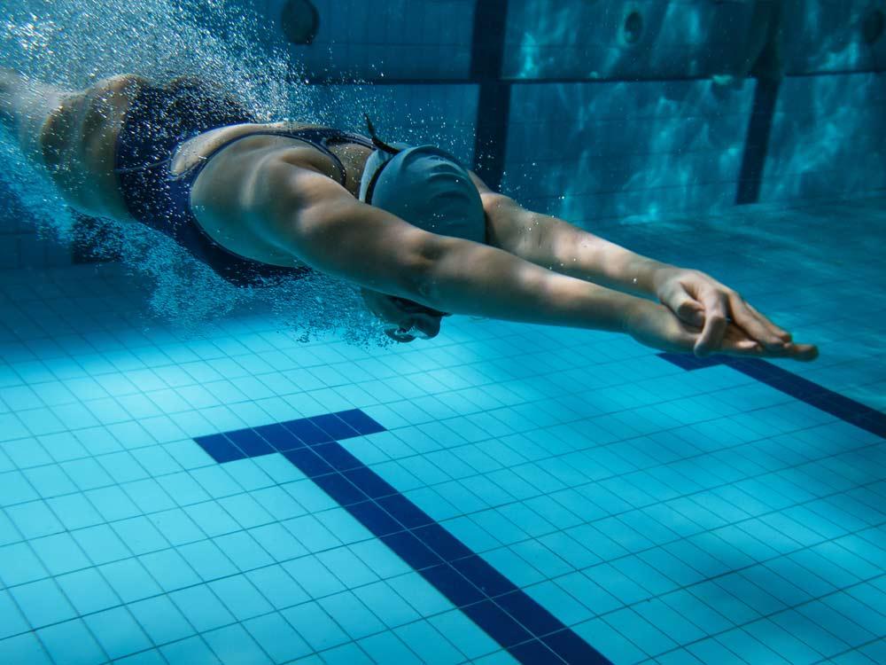 AquaAdults, Aquasport-System, Erwachsene, Schwimmen