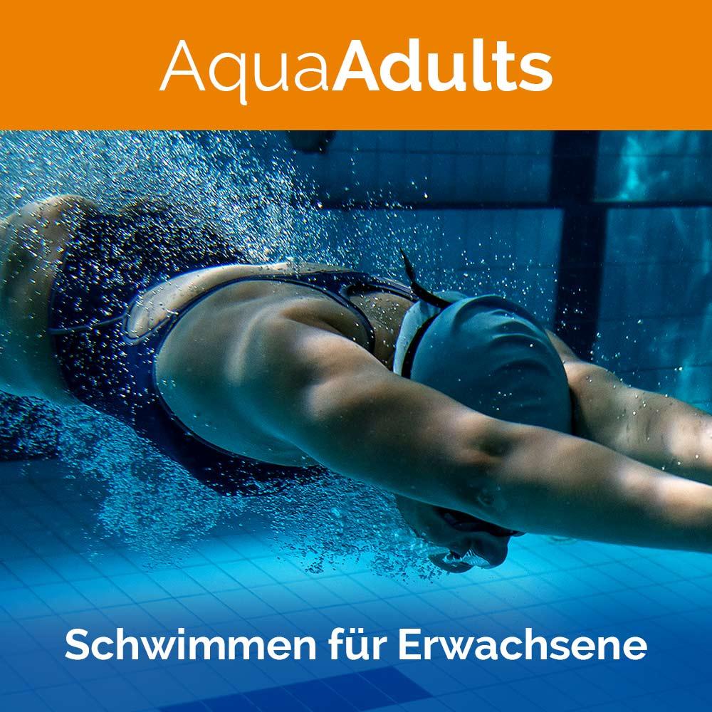 AquaAdults, Aquasport, Erwachsene, Schwimmen, Auqasport, Wasserkurse