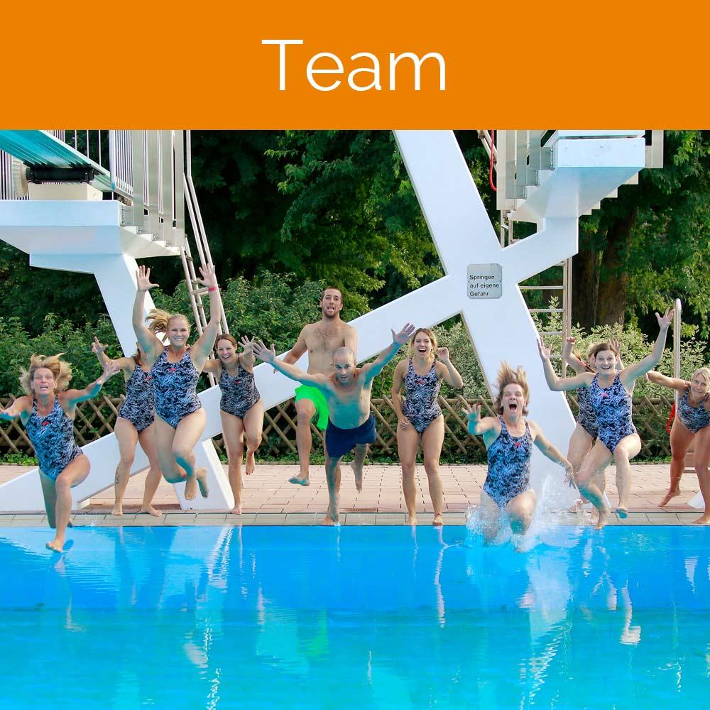 Home, Aquasport, Schwimmer